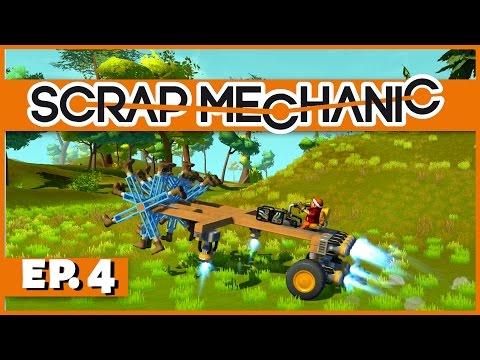 Scrap Mechanic - Ep. 4 - The Footmobile! - Let's Play Scrap Mechanic Gameplay