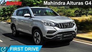 Mahindra Alturas G4 | First Drive Review | AutoToday