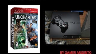 Unboxing : Uncharted Dual Pack (PS3 Greatest Hits)