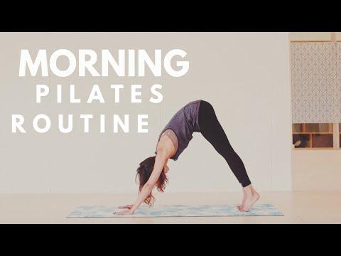Quick Morning Pilates Routine | Lottie Murphy