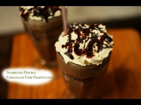 Starbucks Double Chocolate Chip Frappucino recipe | Frozen Coffee beverage | Summer Drink