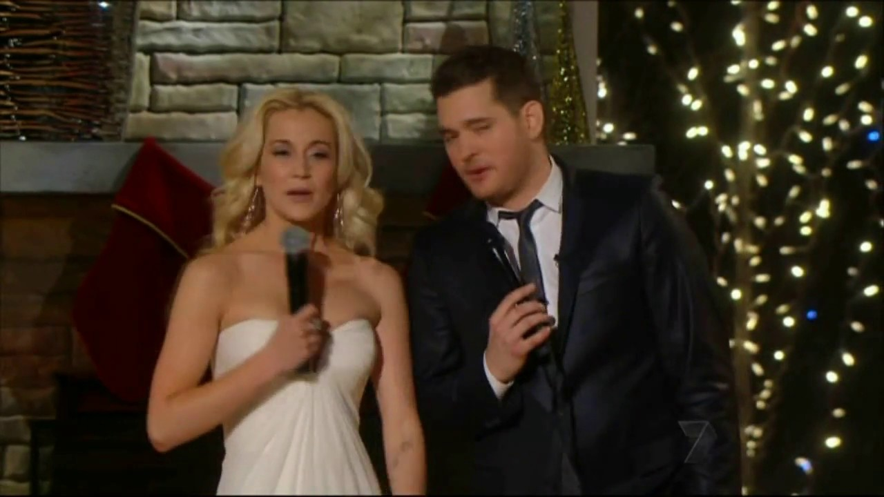 Michael Buble White Christmas.Michael Buble White Christmas