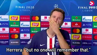 Ander Herrera Enormous Honest Post-Match Interview