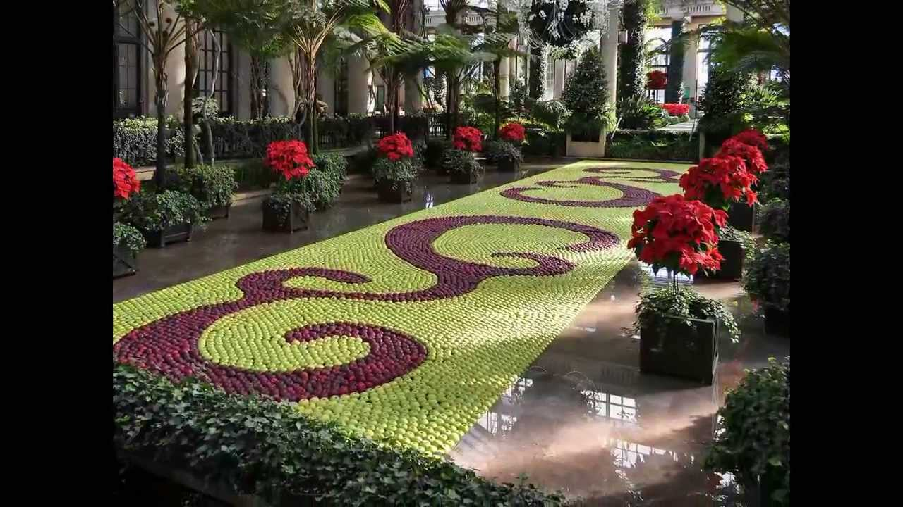 Longwood Gardens - Christmas Decorations - YouTube