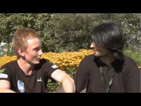 Athene interviews Rasmus 'misery' Filipsen (Dota 2 Player from MYM) @ GamesCom 2011