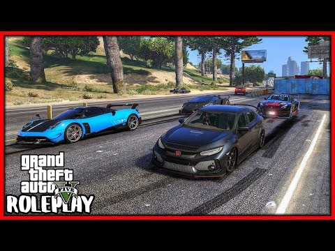 GTA 5 Roleplay - I 'Shut Down' Highway For Drag Racing | RedlineRP #760