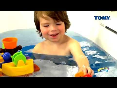 Tomy Aquafun Pirate Bath Ship by Tomy