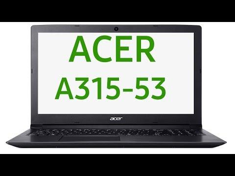 Ноутбук Acer ASPIRE 3 A315-53