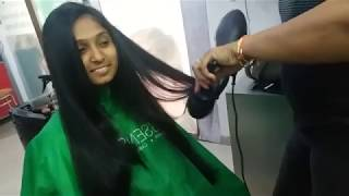How To Give Feather Cut To Long Hair