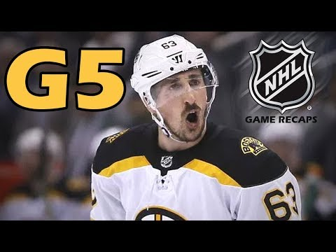 Boston Bruins vs Tampa Bay Lightning. 2018 NHL Playoffs. Round 2. Game 5. 05.06.2018. (HD)