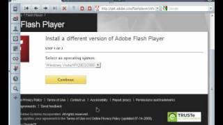 Install Adobe Flash Player /  Как установить флеш плеер для браузера #PI
