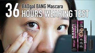 I Wore Benefit BADgal BANG Mascara for 36HRS | kate.yan