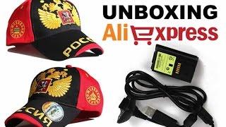 Unboxing Aliexpress - Boné Olympics Russia + Bateria Xbox 360