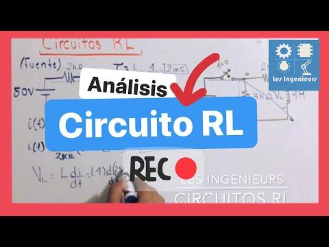 Circuito Rl : Circuito rl con fuente cd ejemplo análisis de circuitos