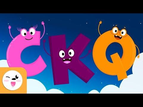 Mis primeras letras - Las consonantes C, K y Q