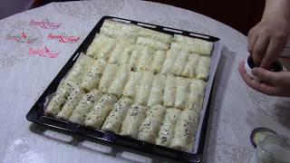 Baklava Yufkasından Patatesli Çıtır Börek Tarifi - Börek Tarifleri