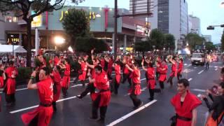 岡山ガス ~2014うらじゃ・2日目(市役所筋パレード(南進))