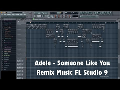 How To Make Music Like Adele - Someone Like You (Stock Plugins, FL Studio 9)