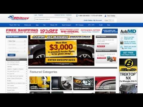 JCWhitney.com Coupon Codes, Deals & Offers