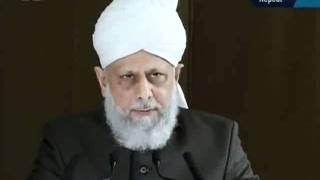 Khutba juma jmat imam mahdi as. 23 sep_persented by khalid Qadiani 4