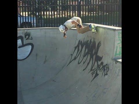 Oxnard Skatepark Tom Varley Flowing On The Transition