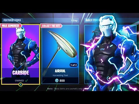 *NEW* CARBIDE FULLY ARMORED! LEVEL 65 MAX ARMOR! Fortnite Battle Royale