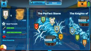 Lego Nexo Knights Quest The Perfect Storm