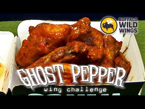Buffalo Wild Wings Ghost Pepper Wings | Challenge Accepted