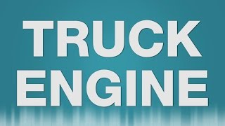 Truck Engine SOUND EFFECT - Bus Engine LKW Motor starten running SOUNDS