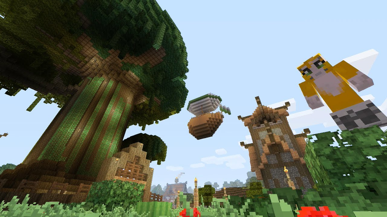 Minecraft Xbox The Tree Life Adventure Map 1