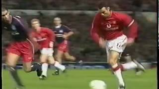 Ryan Giggs vs Olympiakos Home 2001-2002