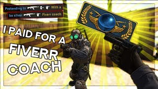 Buying a CSGO Fiverr coach and pretending to be silver with Haix! (How to get good)