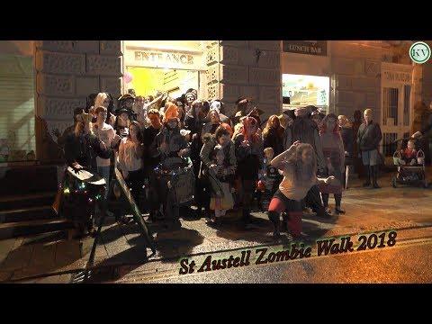 St Austell Zombie Walk 2018