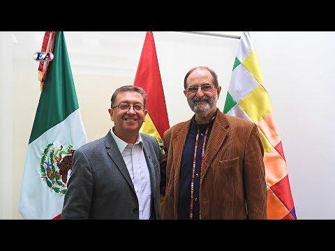 EL EMBAJADOR DE BOLIVIA EN MÉXICO, JOSÉ CRESPO, PLATICÓ DE LOS ÉXITOS DEL PRESIDENTE EVO MORALES