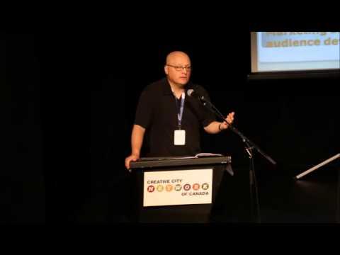 Creative City Summit 2013, Ottawa, ON - Keynote Speaker, Denis Bertrand