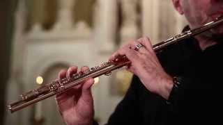 """""""In Dulci Jubilo"""" by J.S.Bach BWV 729 Flute Solo"""