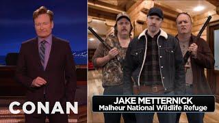 Conan Hears The Oregon Militia's New Demands  - CONAN on TBS