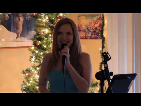 Hilarious Performance of the song Santa Baby Karaoke with a Surprise!
