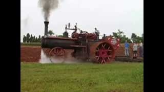 Peerless Z3 traction engine spins out while plowing