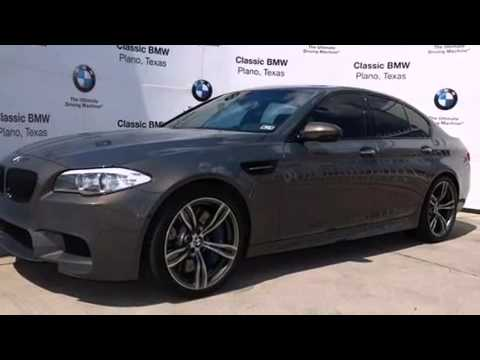 Pre-Owned 2013 BMW M5 Plano TX - YouTube
