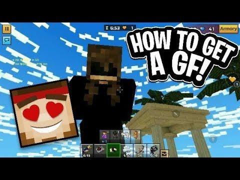 PIXEL GUN 3D HOW TO GET A GF!