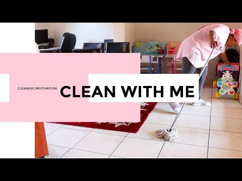 Motivation cleaning | Clean with me | South African youtuber