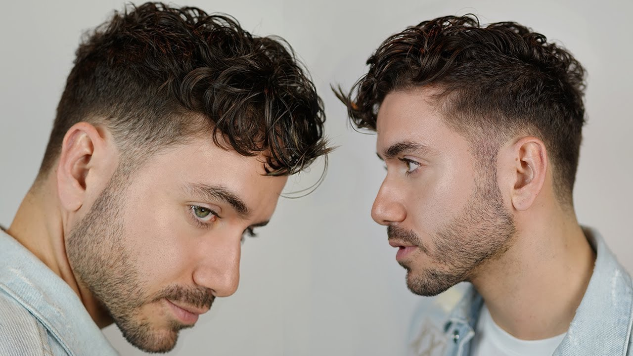 Modern Curly Hairstyle 2019 Men S Undercut Curly Fringe Haircut Alex Costa