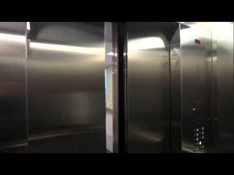 Elevators at the new South Healh Campus - Calgary, Alberta