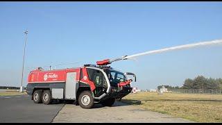 LOTNISKO: Testujemy najnowocześniejszy wóz strażacki w Europie. Sprawdź!   ODCINEK 3.
