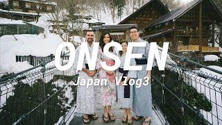 Onsen and Snow Monkeys - Japan Vlog3
