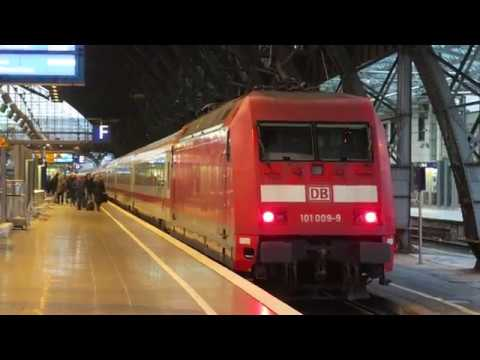 DBAG Intercity 2320 Frankfurt - Hamburg pushed by Br101 at Köln Hbf