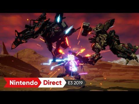 DAEMON X MACHINA(デモンエクスマキナ):E3 2019 出展映像