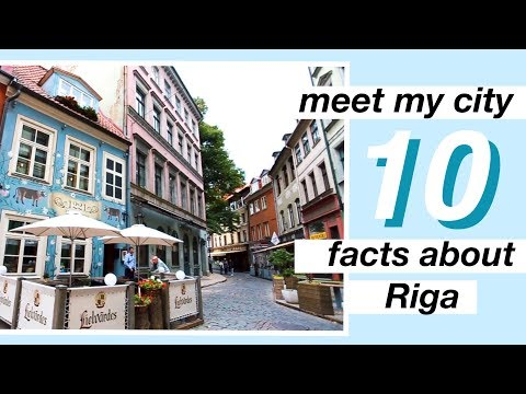 Meet My City // 10 Facts About Riga, Latvia | Bea Jonite