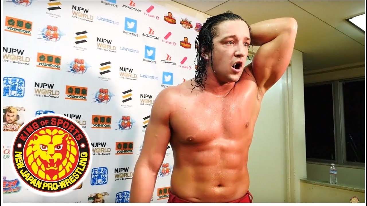 G1 CLIMAX 28 Night13 (August 02) - Post-match Interview [8th match]
